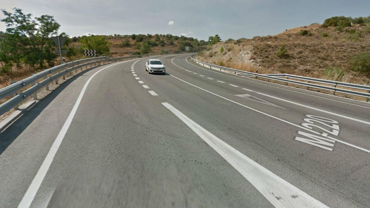 Carretera de Torres de la Alameda a Nuevo Baztán