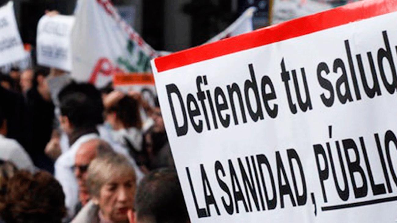 Las asociaciones en defensa de la sanidad pública denuncian que Madrid lidera la privatización sanitaria