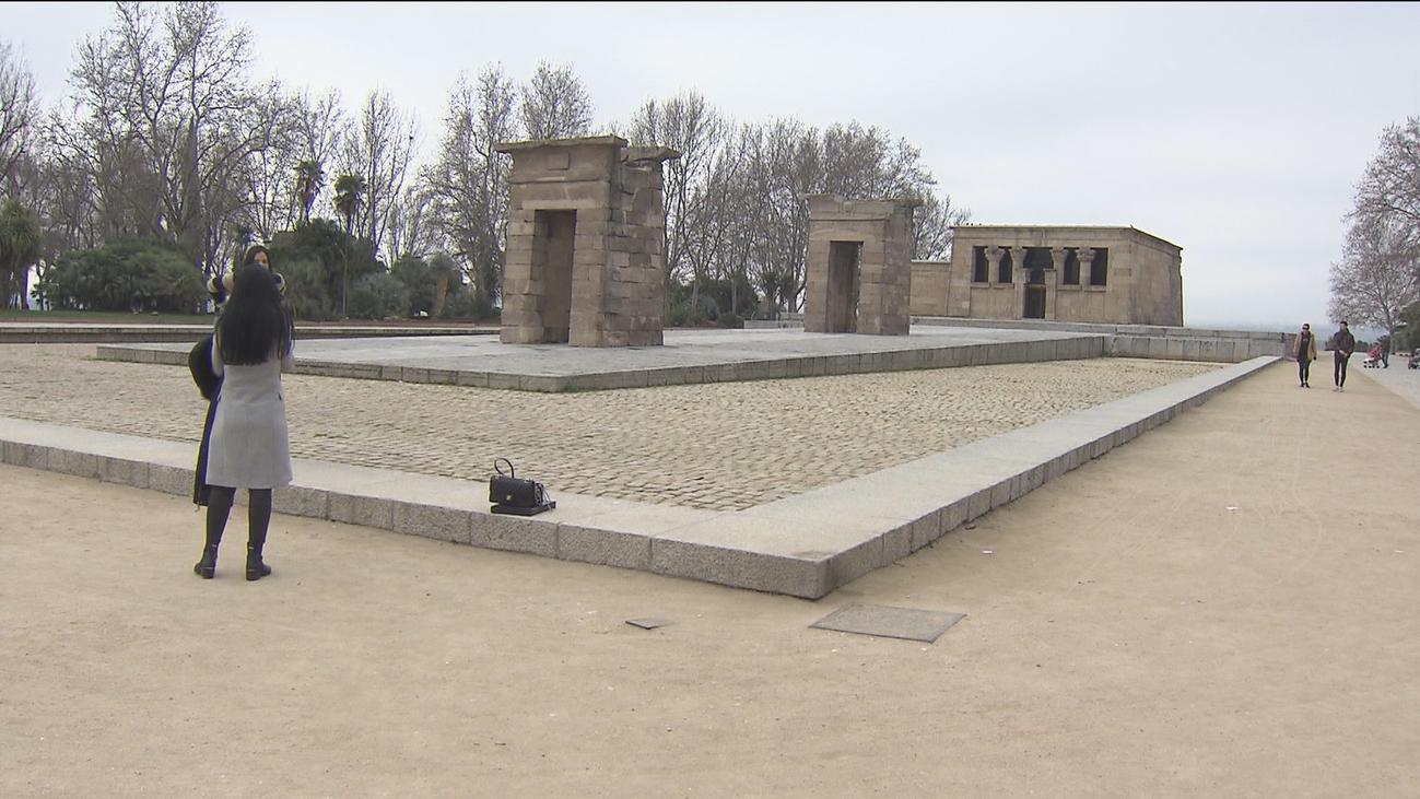 Madrid no descarta cubrir el Templo de Debod para velar por su conservación