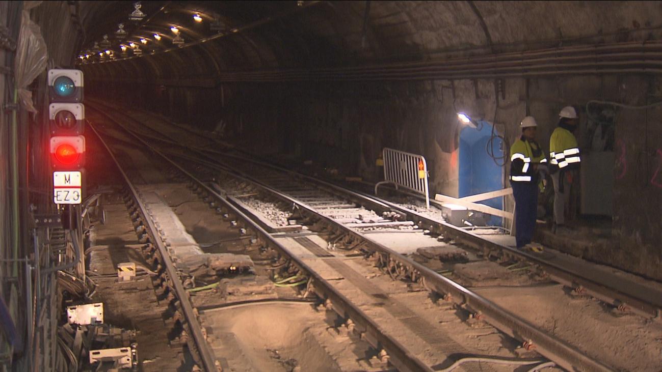 Telemadrid accede a las entrañas de las obras de la línea 4 de Metro