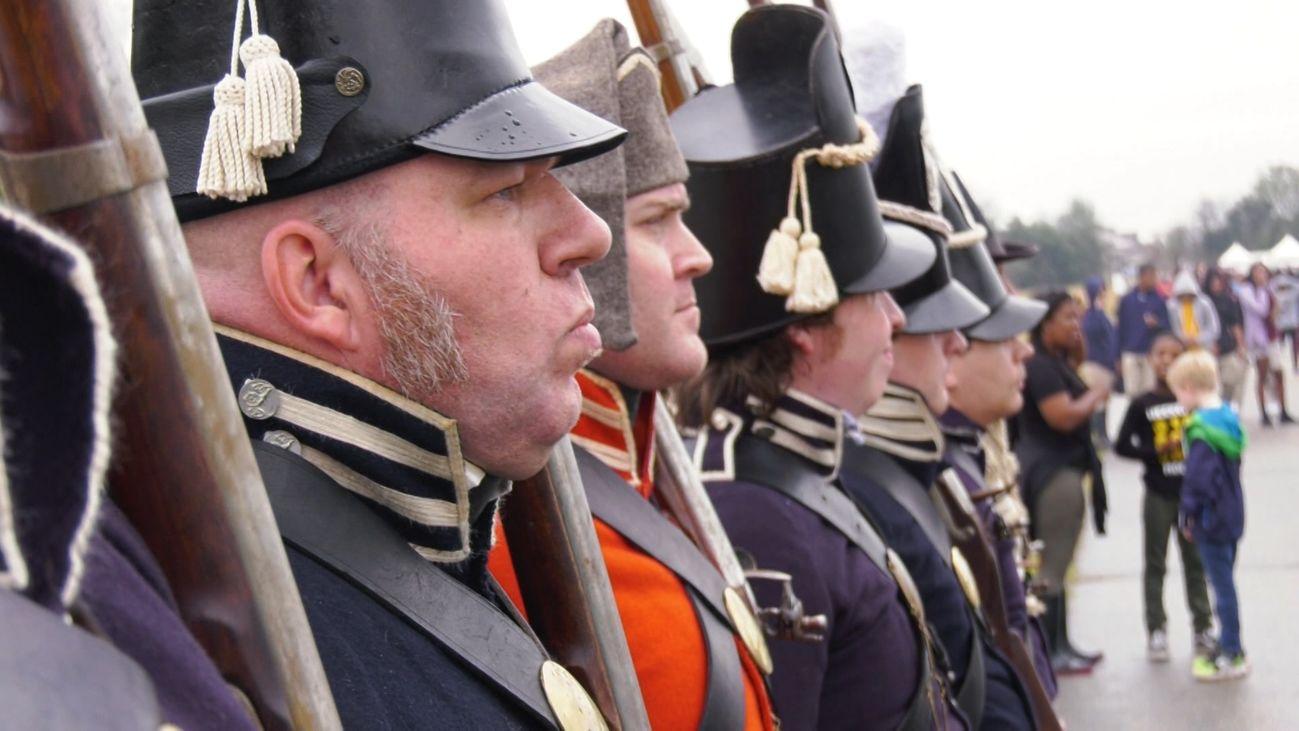 Asistimos a la Batalla de Nueva Orleans de 1814