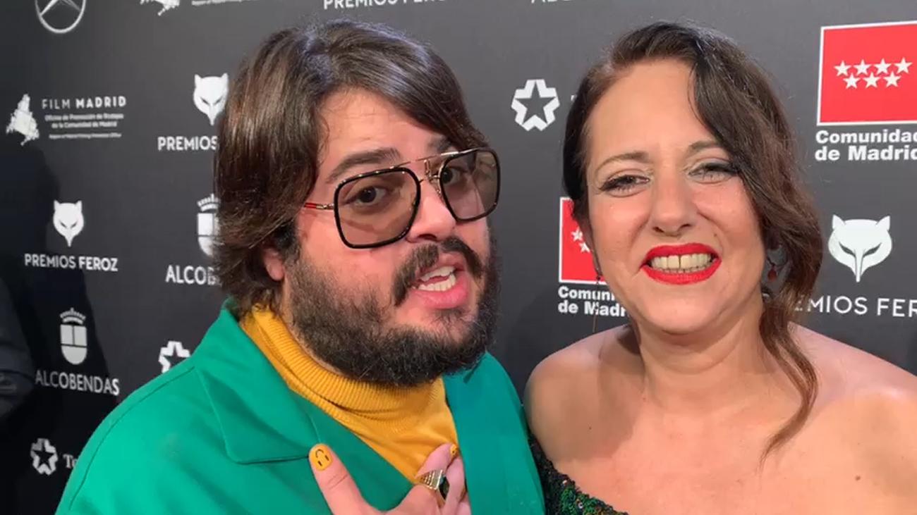 Felicitaciones a Onda Madrid: Brais Efe y Yolanda Ramos