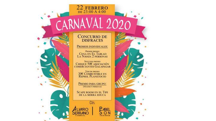 Concurso de disfraces, juegos, hinchables y DJs para celebrar el Carnaval en Galapagar