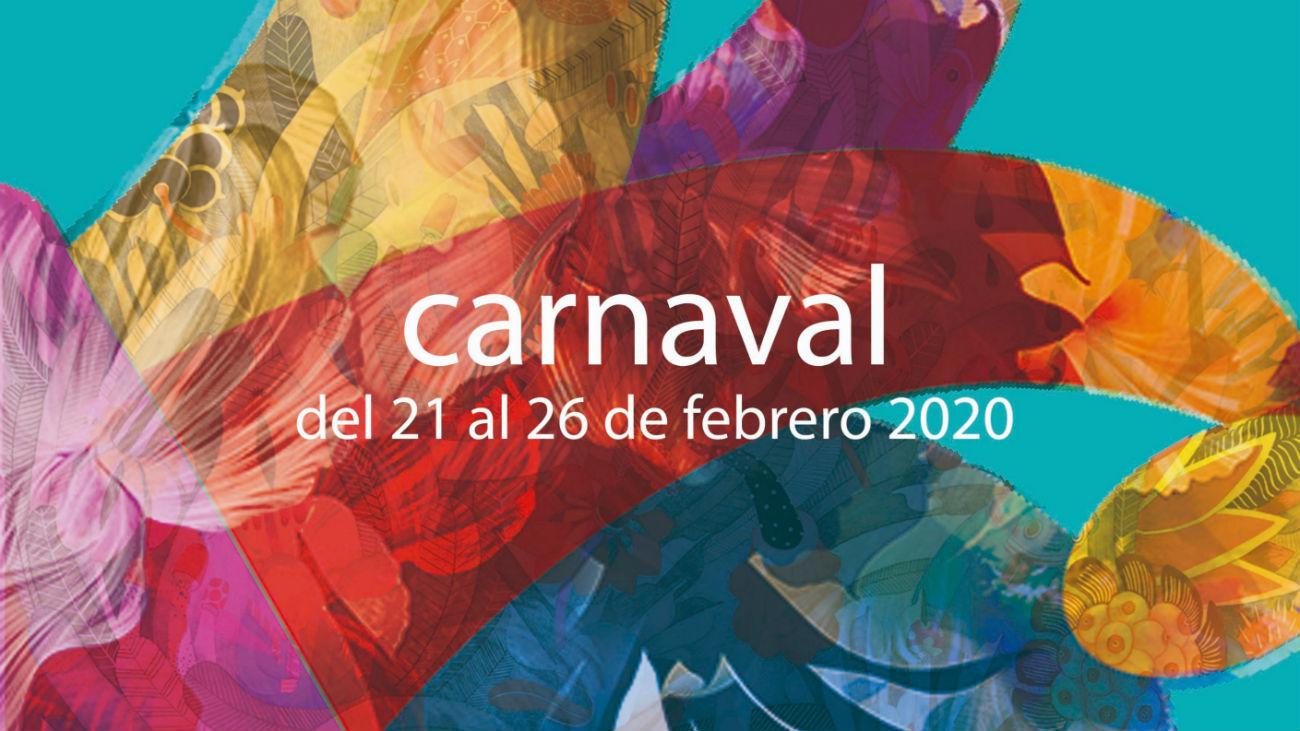 Cartel del Carnaval de Alcalá de Henares