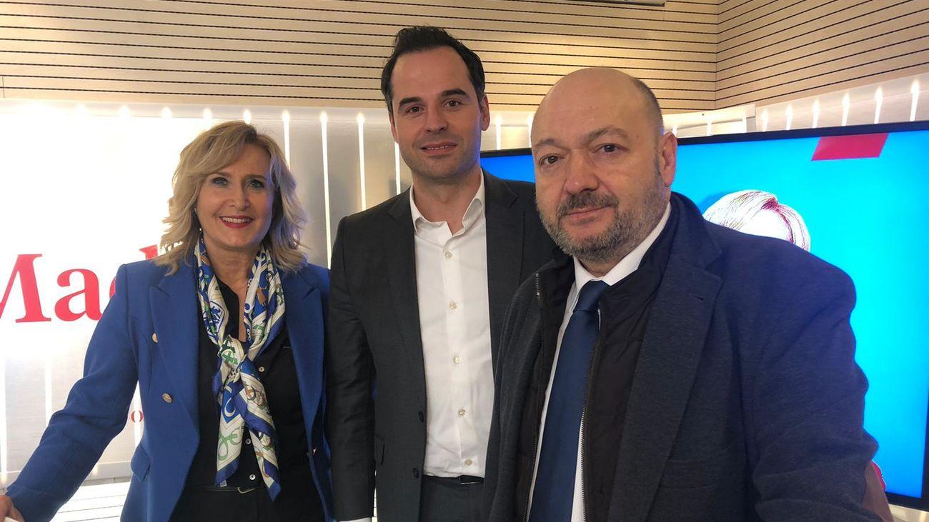 Nieves Herrero, Ignacio Aguado y Constantino Mediavilla