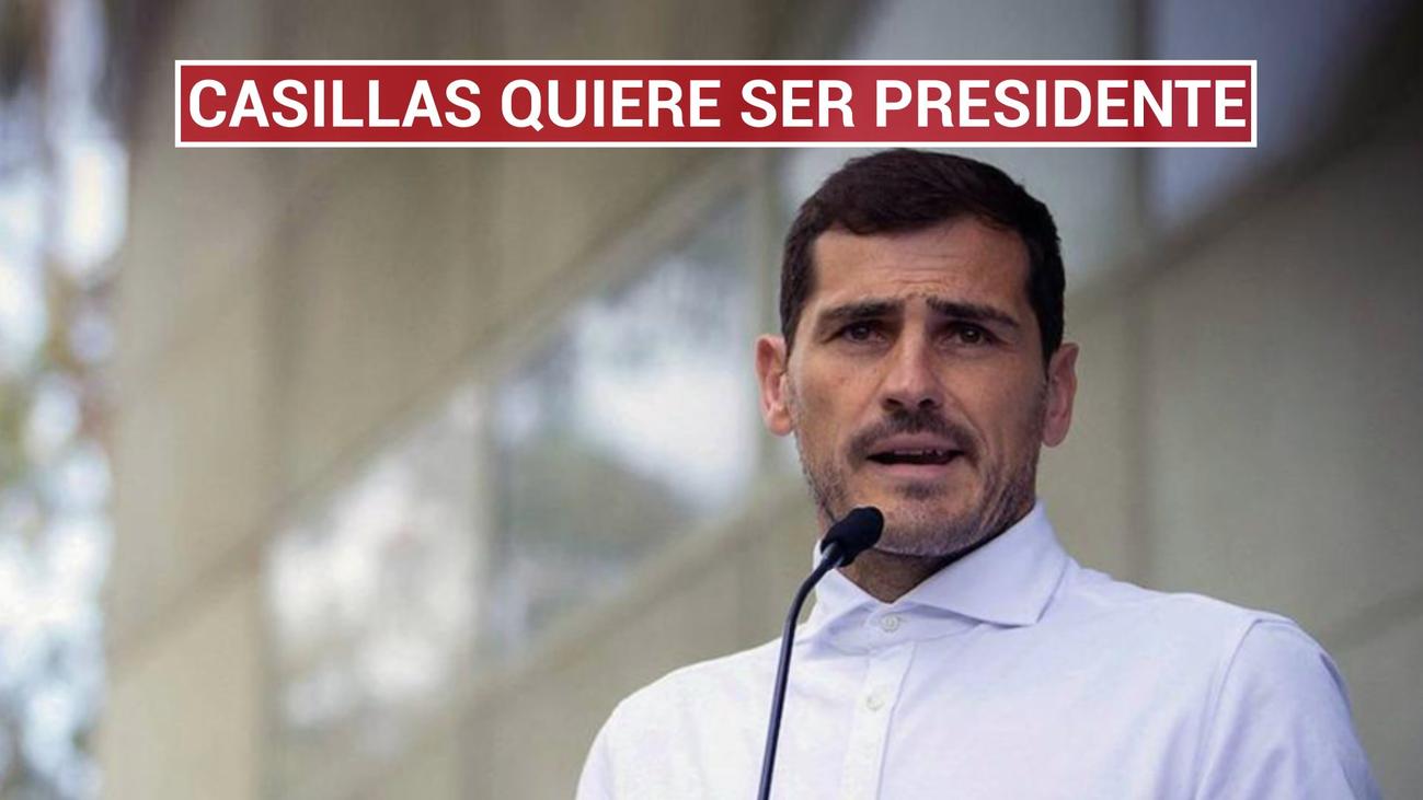 Casillas se presentará a las elecciones de la Federación contra Rubiales