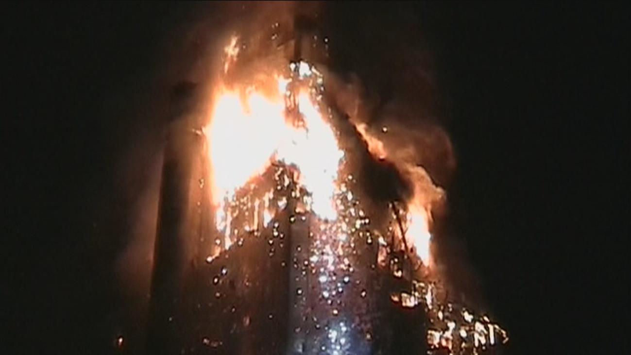 Las dudas que se mantienen 15 años después del incendio del Windsor