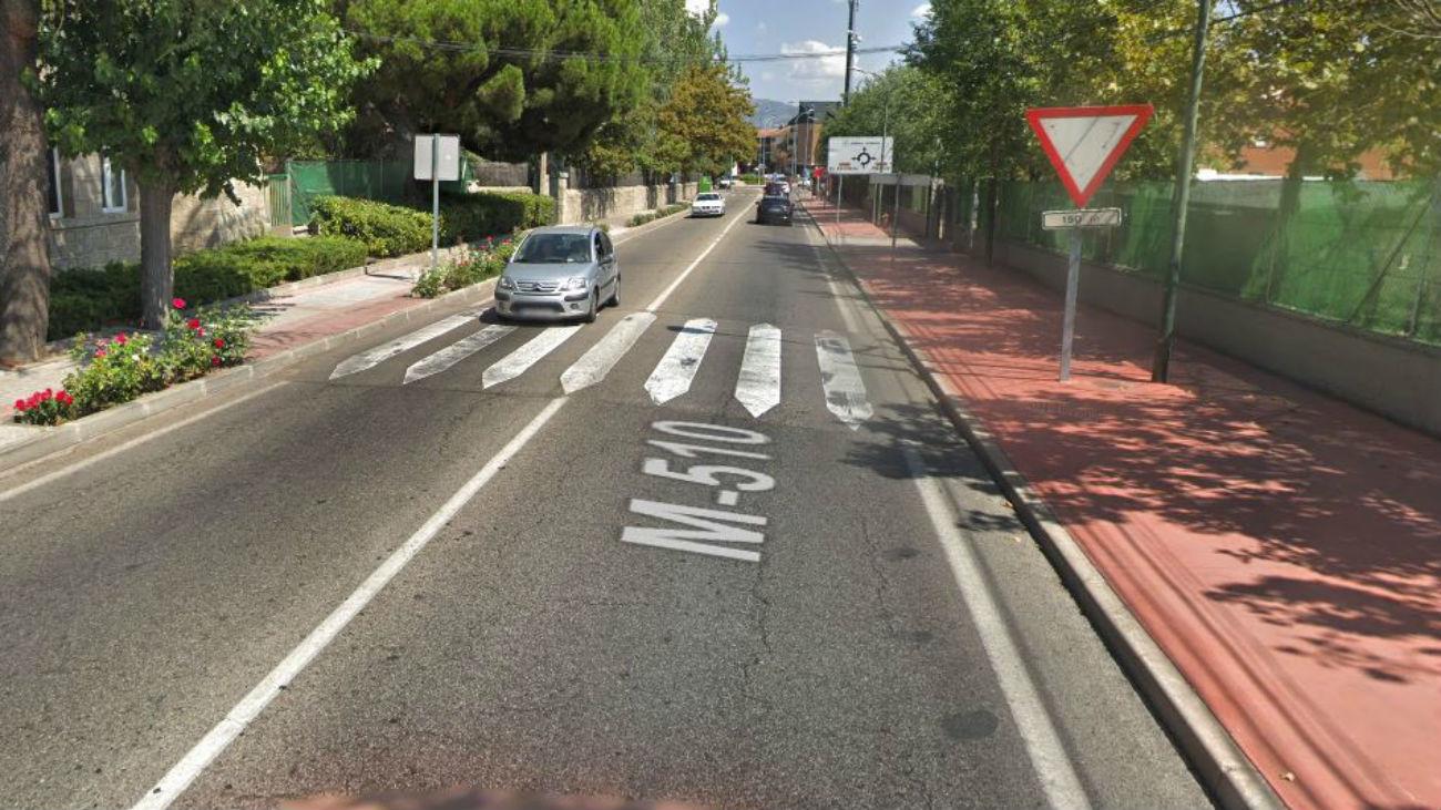 Número 12 de la carretera de Colmenarejo
