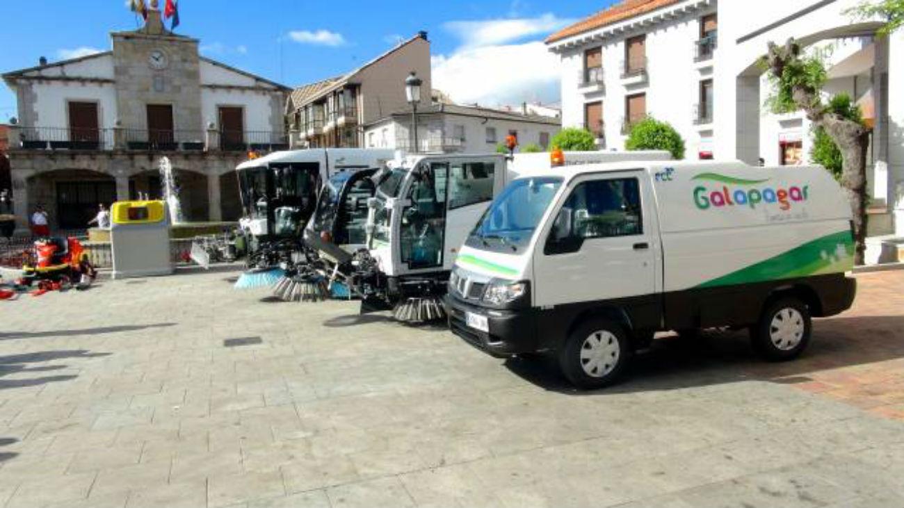 Vehículos de limpieza de Galapagar
