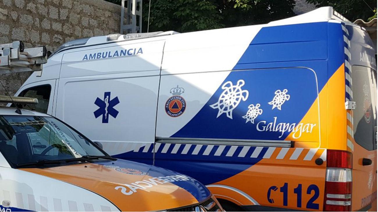 Ambulancia de Protección Civil