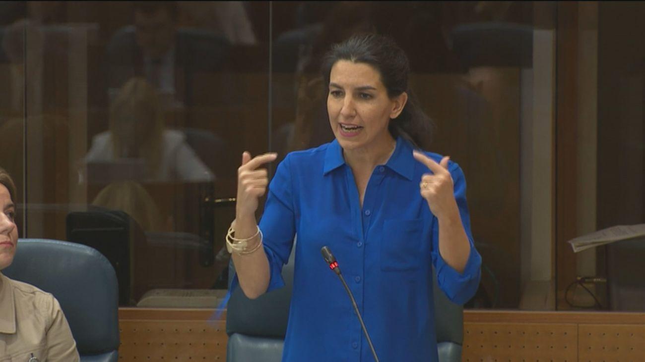 Rocío Monasterio, portavoz de Vox en la Asamblea de Madrid