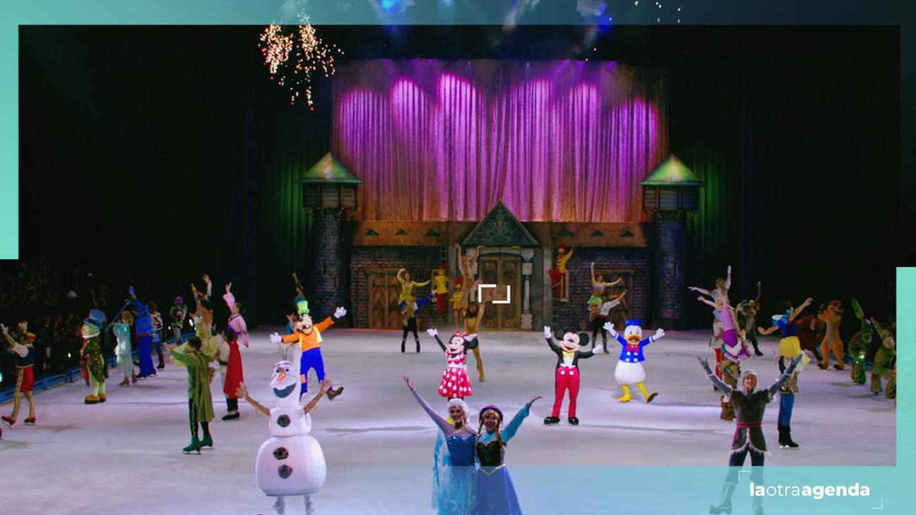 Nos colamos en Disney On Ice 100 años de magia, ¡antes que nadie!
