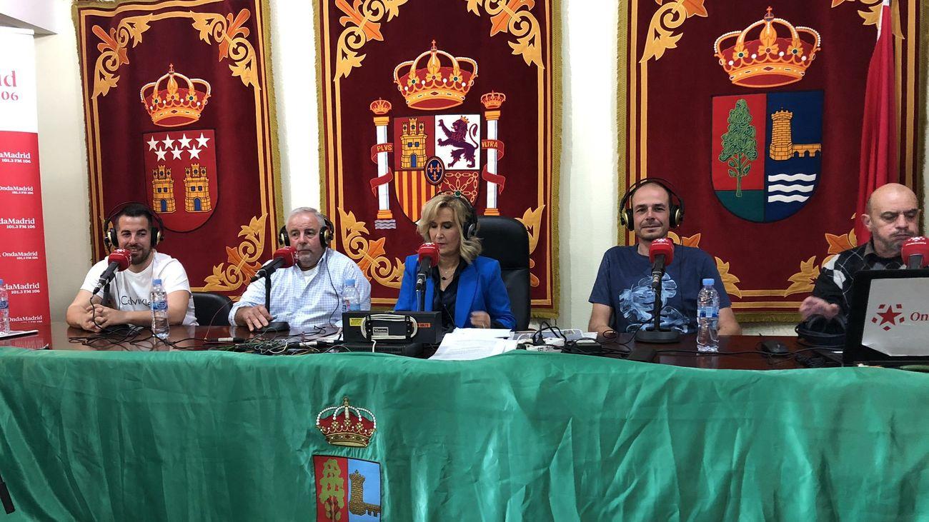 Tertulia con agricultores de Villa del Prado