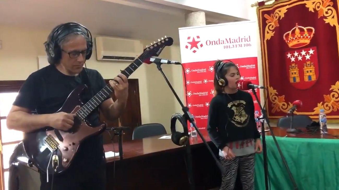 """Cantantes de Villa del Prado:"""" Valeria Martín, 10 años"""""""