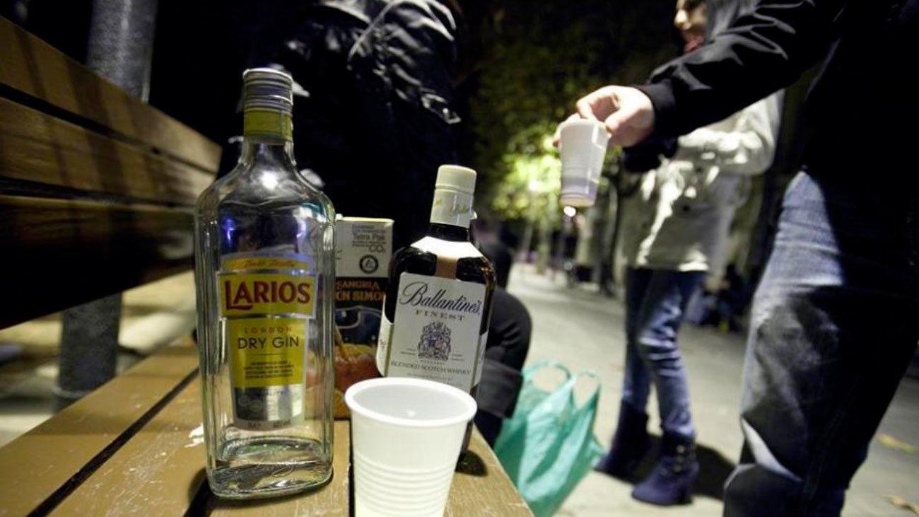 Alcohol en la calle