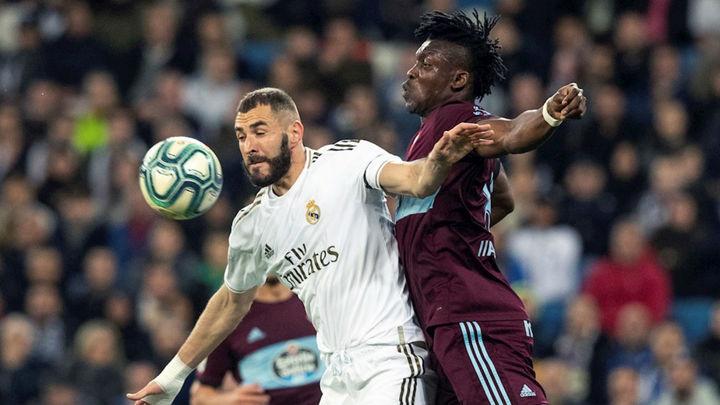 2-2. El Real Madrid tropieza en casa ante el Celta