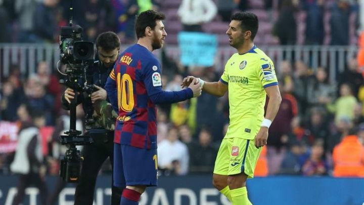 2-1. Un valiente Getafe hace sufrir al Barça