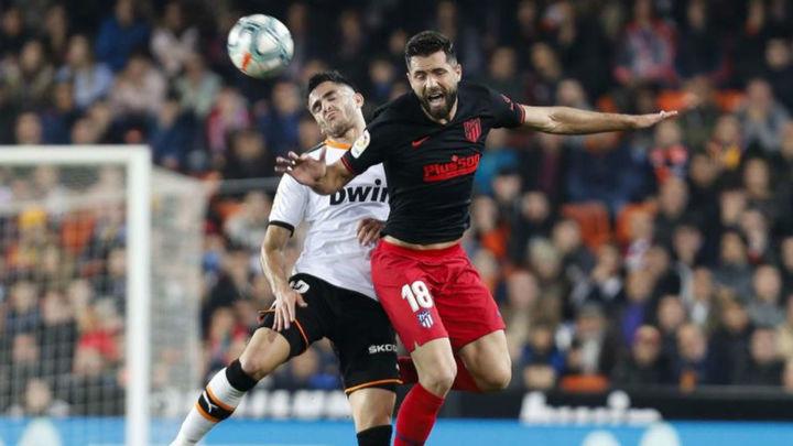 2-2. Atlético y Valencia empatan en un partido eléctrico