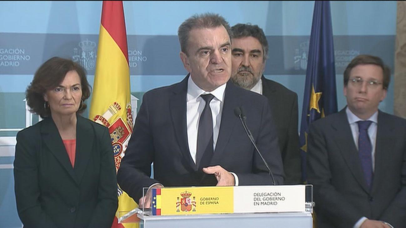 José Manuel Franco toma posesión como nuevo delegado del Gobierno en Madrid