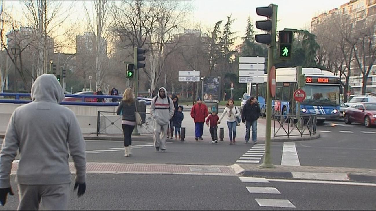 La calle Alcalá, con 39 siniestros, donde más atropellos se producen en Madrid