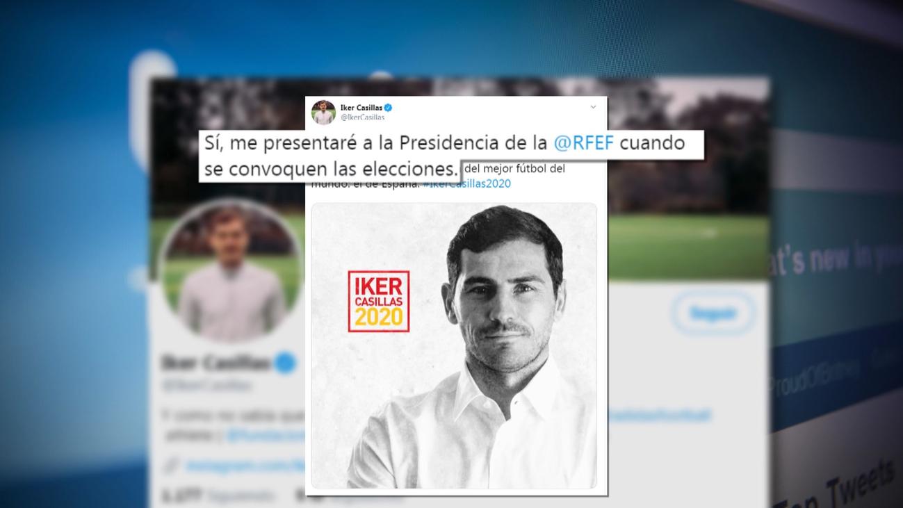 Casillas confirma que se presentará a la presidencia de la RFEF