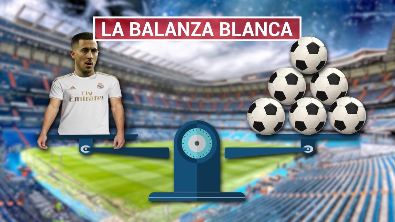 Hazard, cara; los fallos defensivos, cruz en el Real Madrid