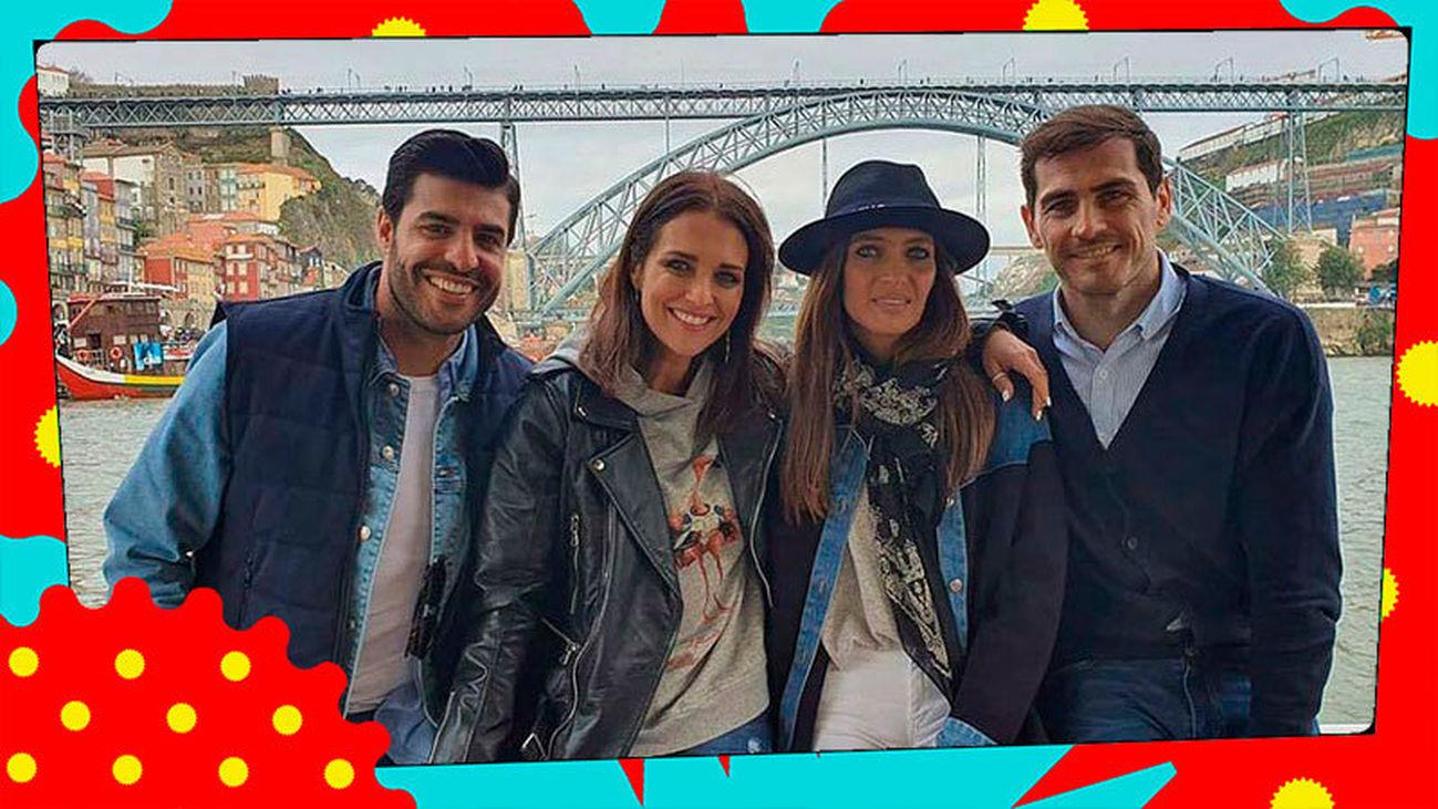 Iker Casillas y Sara Carbonero, 'perfectos anfitriones' de Paula Echevarría y Miguel Torres