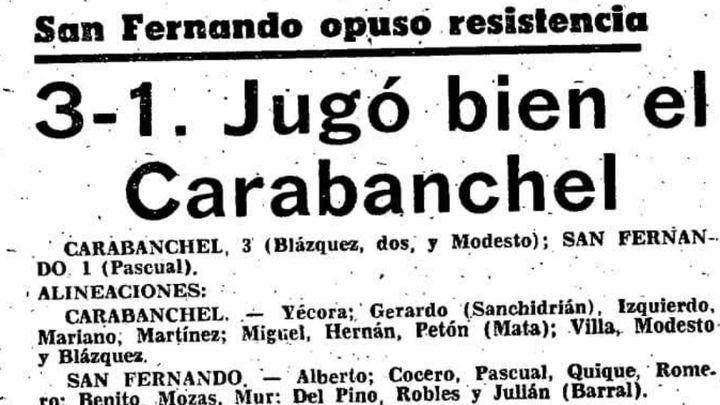 Carabanchel-San Fernando, el clásico de la Tercera madrileña
