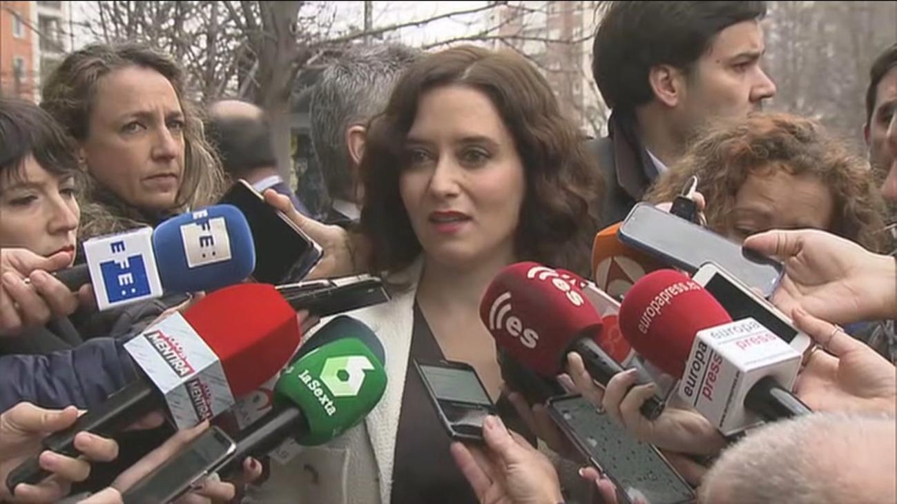 Ayuso advierte que hay una campaña para acabar con la autonomía fiscal de Madrid
