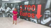 Las mujeres en España cobran de media 5.700 euros al año menos que los hombres