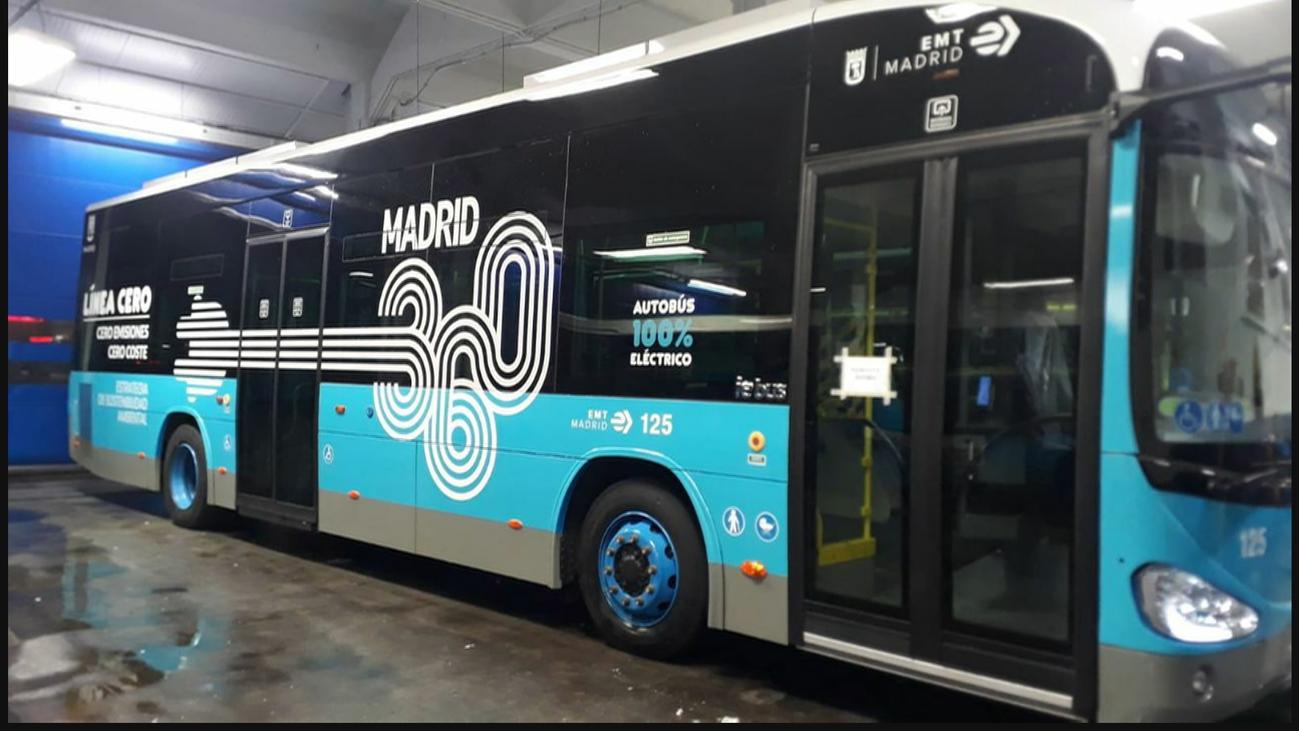 La línea de bus gratis y cero emisiones de Atocha a Moncloa arranca este martes