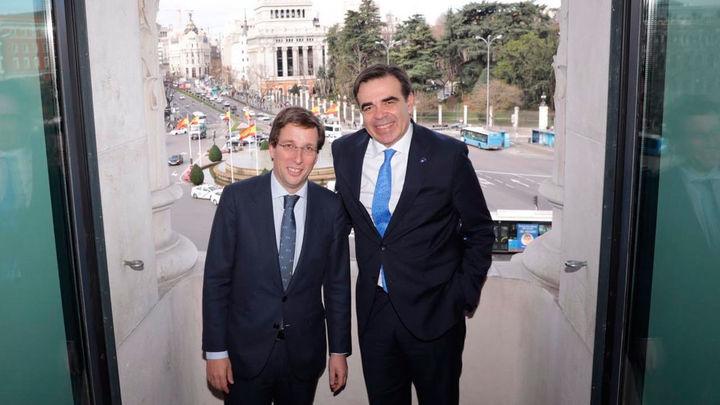 Almeida se reúne con el vicepresidente de la Comisión Europea