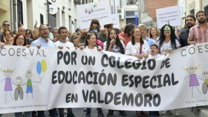 Reclaman la construcción de un colegio de educación especial en Valdemoro