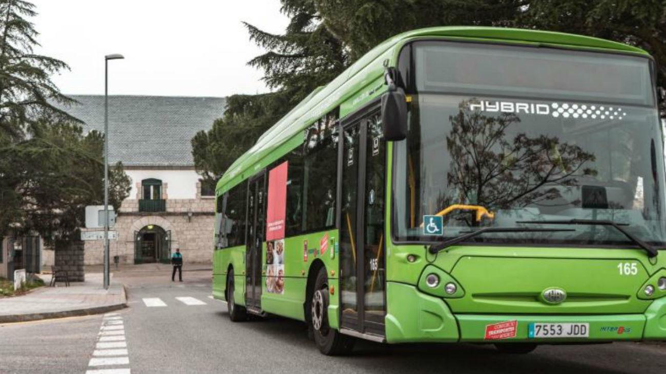 Autobús de Colmenar Viejo