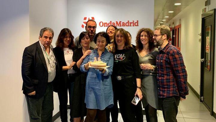 Alegría en la celebración de 35 años de Onda Madrid