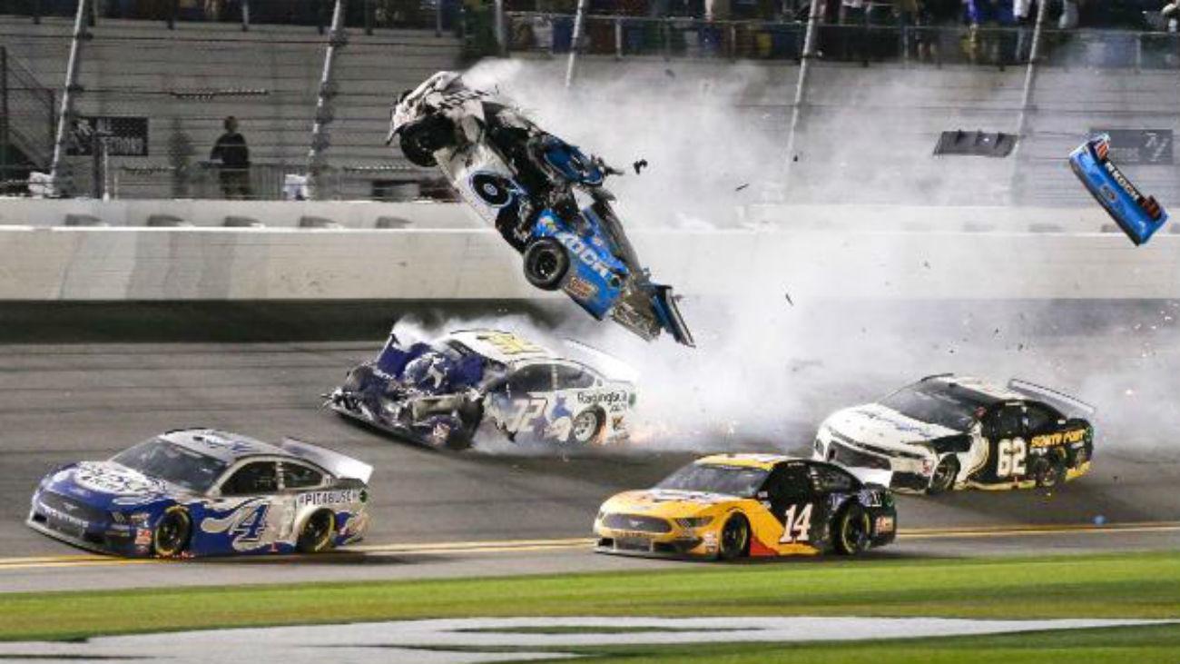 Dramático accidente en las 500 Millas de Daytona