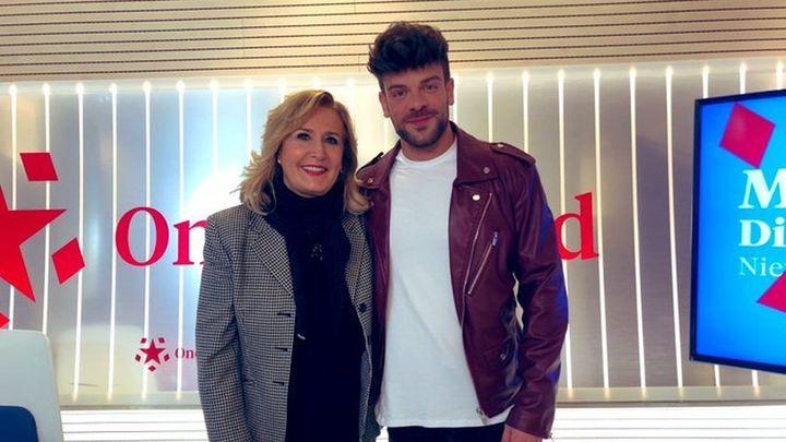 Entrevista al cantante Ricky Merino