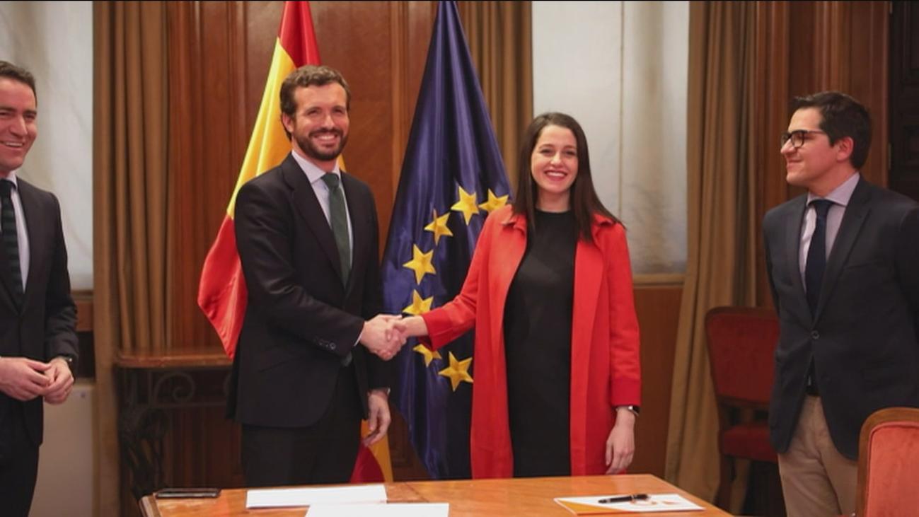 PP y Cs avanzan hacia una coalición en el País Vasco pero no en Galicia