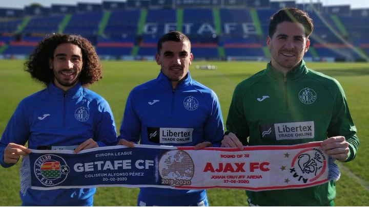 El Getafe, ante un duro hueso, el Ajax