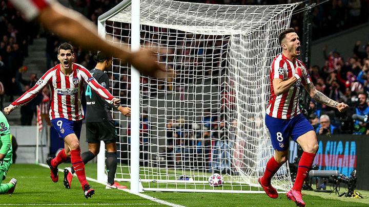 1-0. Saúl tumba al Liverpool en la ida de octavos de la Champions
