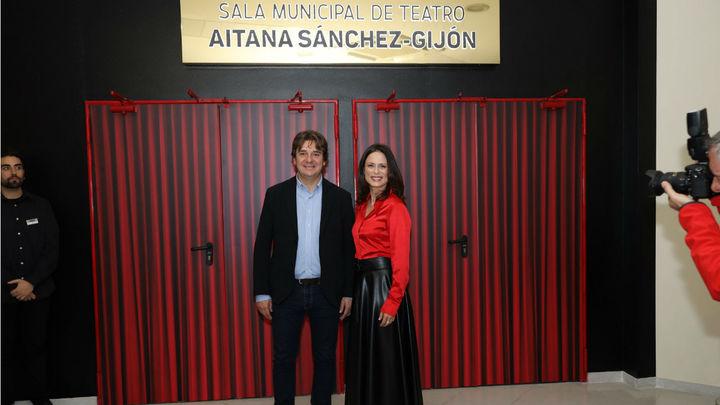 Aitana Sánchez-Gijón da nombre al teatro del centro cívico El Vivero de Fuenlabrada