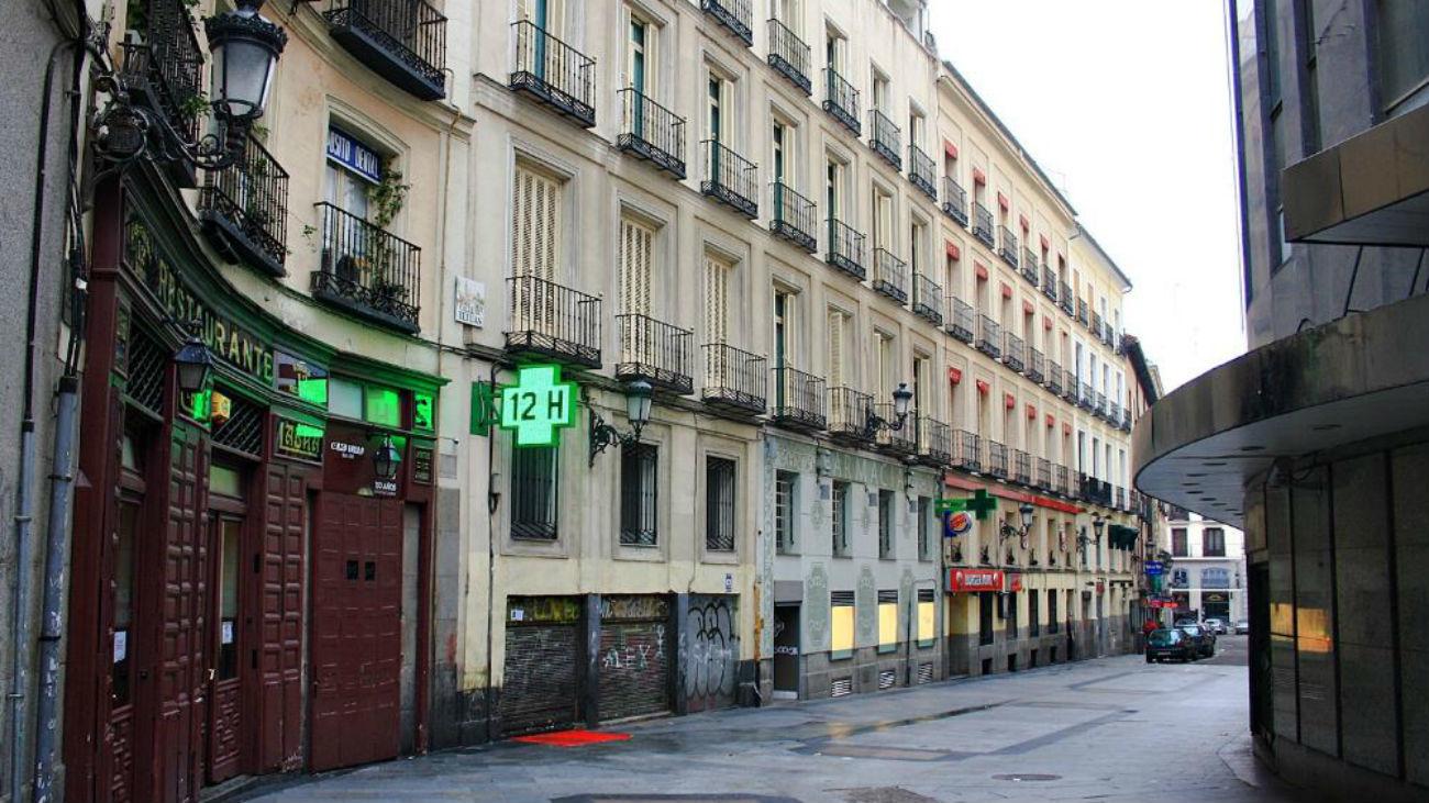 Calle Tetuán de Madrid