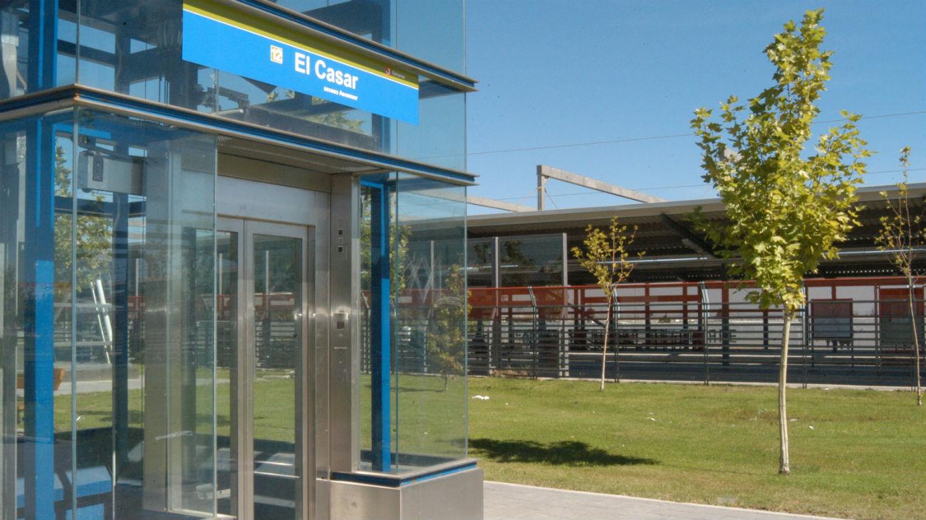 Estación de metro de El Casar