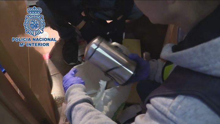 Diez detenidos por suministrar drogas a cuatro narcopisos de Tetuán, Villaverde y Centro
