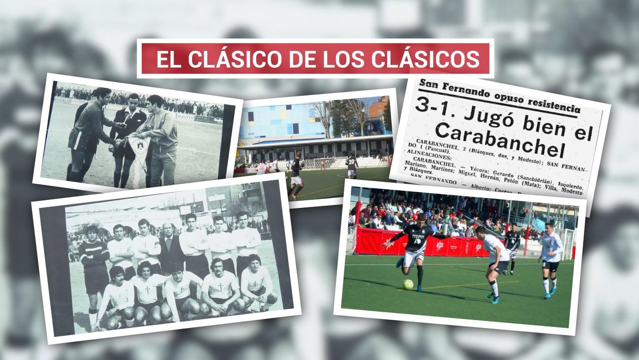 Carabanchel-San Fernando, una rivalidad histórica en Madrid