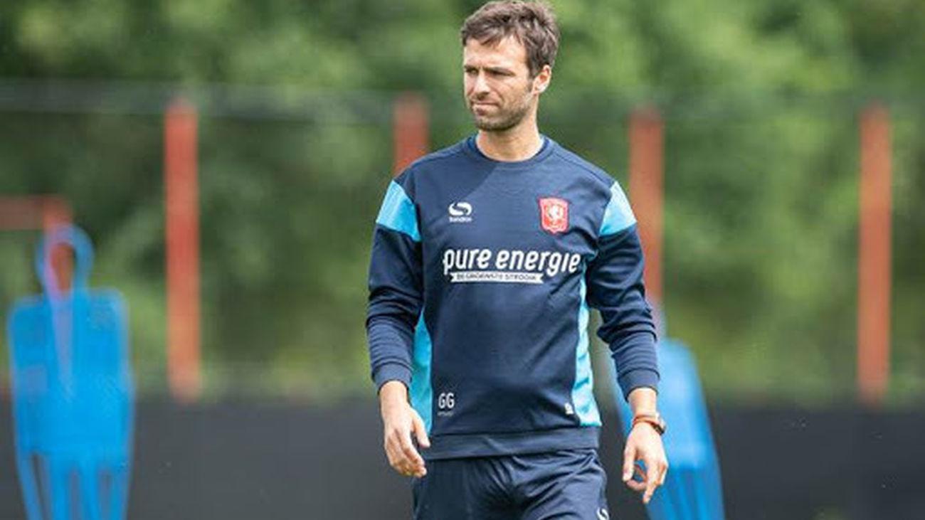 Gonzalo García, entrenador del Twente