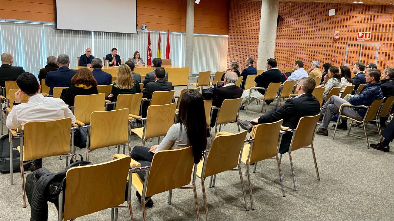Reunión del alcalde de Rivas con inmobiliarias