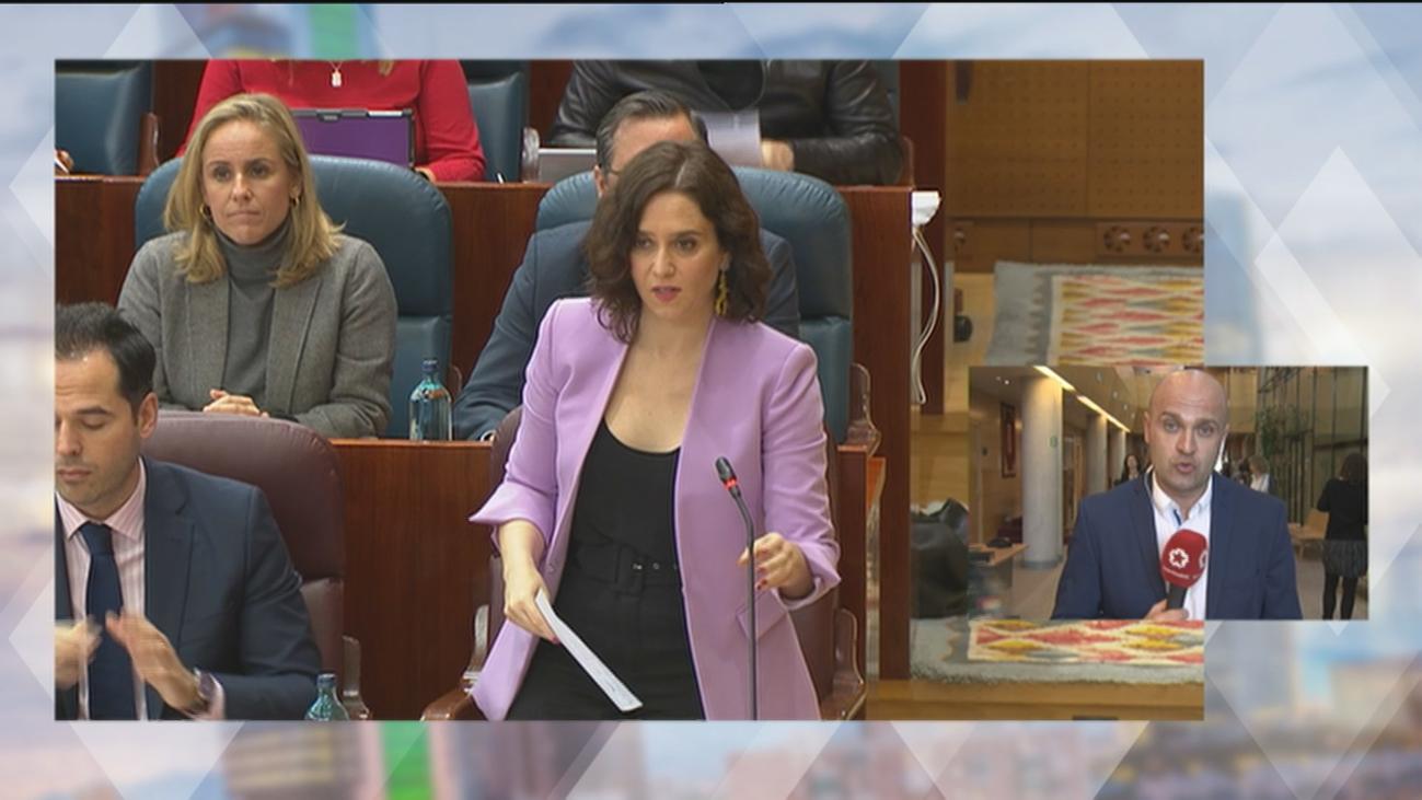 Los presupuestos y la ley LGTBI, a debate en la Asamblea de Madrid