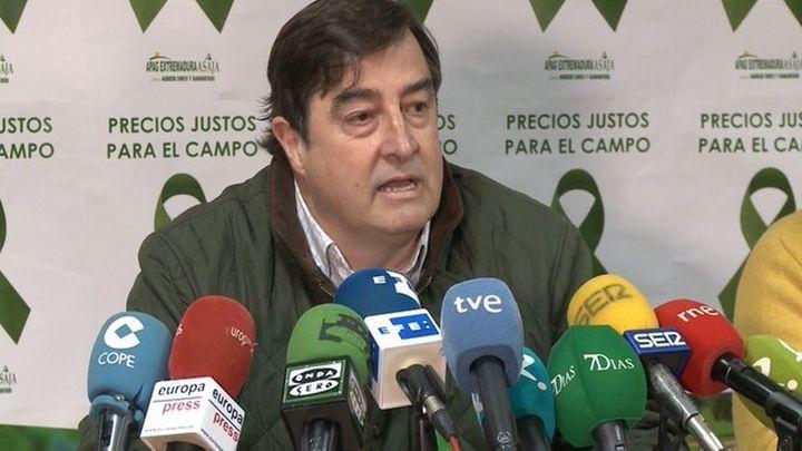 """Ángel García (Asaja): """"No vamos a manifestarnos frente a la casa de Pablo Iglesias"""""""