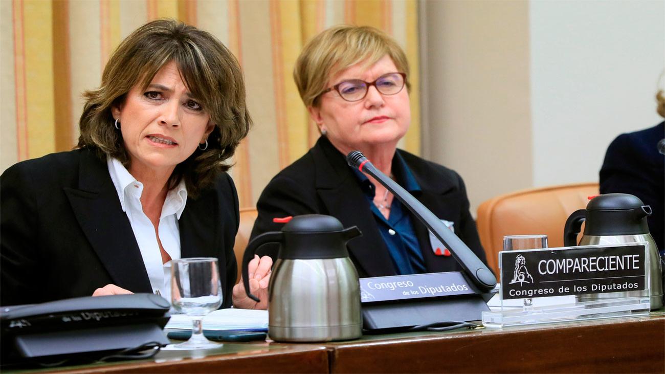 """Delgado dice que haber sido ministra es una """"fortaleza"""" para ser fiscal general"""